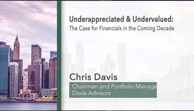 Financials – Underappreciated and Undervalued