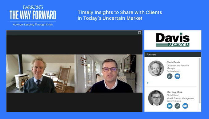 Barron's Interviews Chris Davis – Three Timely Insights for Investors